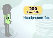 Headphones Tee Item_714
