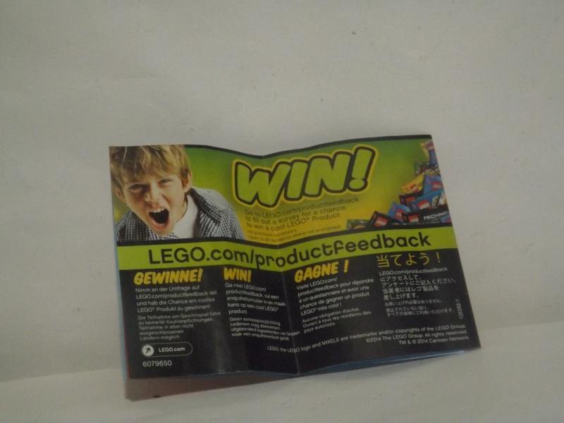 [Revue] LEGO Mixels 41503 : Krader Dscf4019