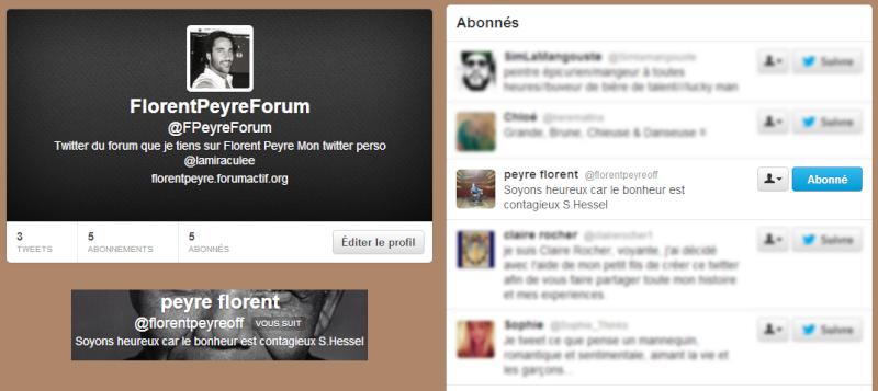Lien concernant Florent et le forum Twitte10