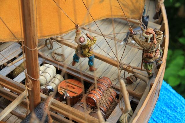 Besatzung eines Wikingerhandelsschiffs (Knarr) Figure10
