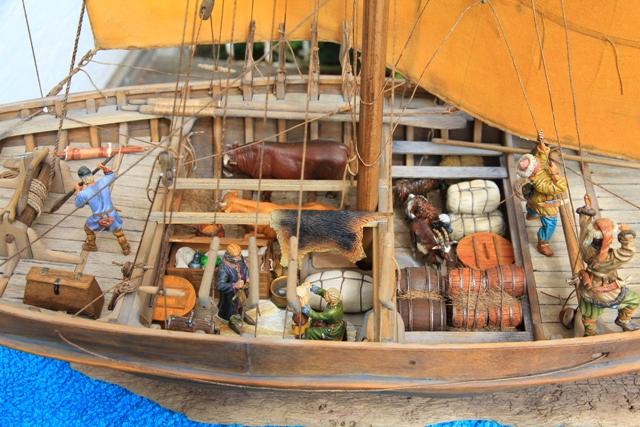 Besatzung eines Wikingerhandelsschiffs (Knarr) Mitte10