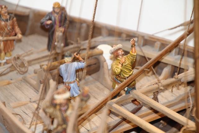 Besatzung eines Wikingerhandelsschiffs (Knarr) Seeman11