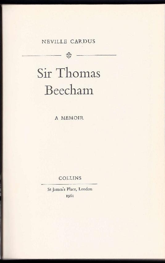 Sir Thomas Beecham Beecha10