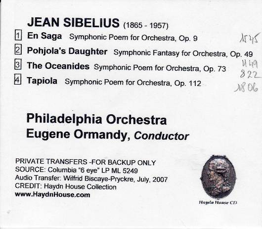 Sibelius – Tapiola (discographie & écoute comparée) - Page 4 Sibeli11