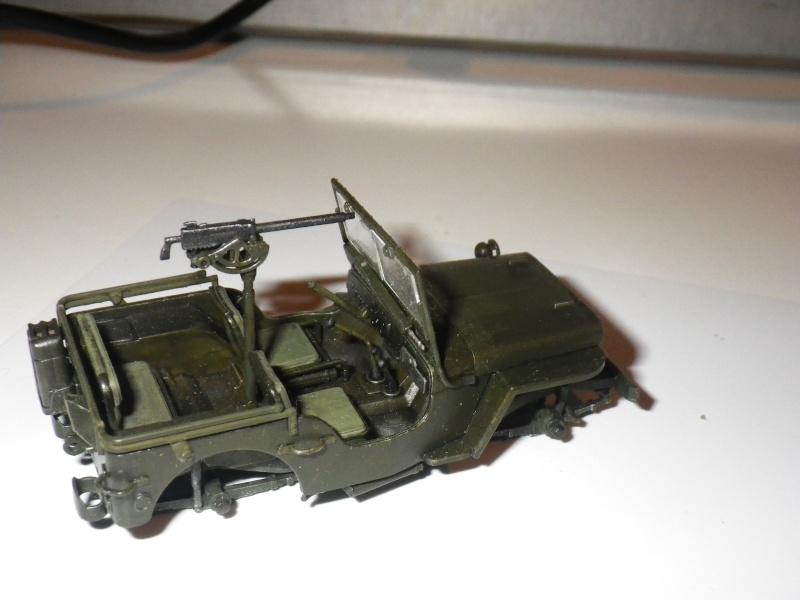 Jeep Tamiya au 1/48e (mise à jour du 19/12/13-figurine) Imgp0814