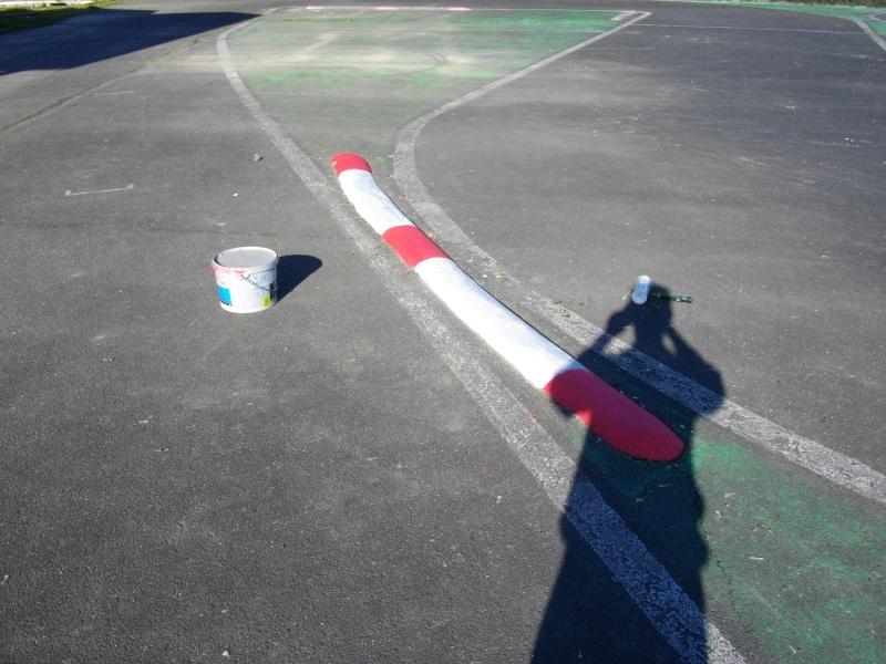 travaux sur la piste vitesse 00110