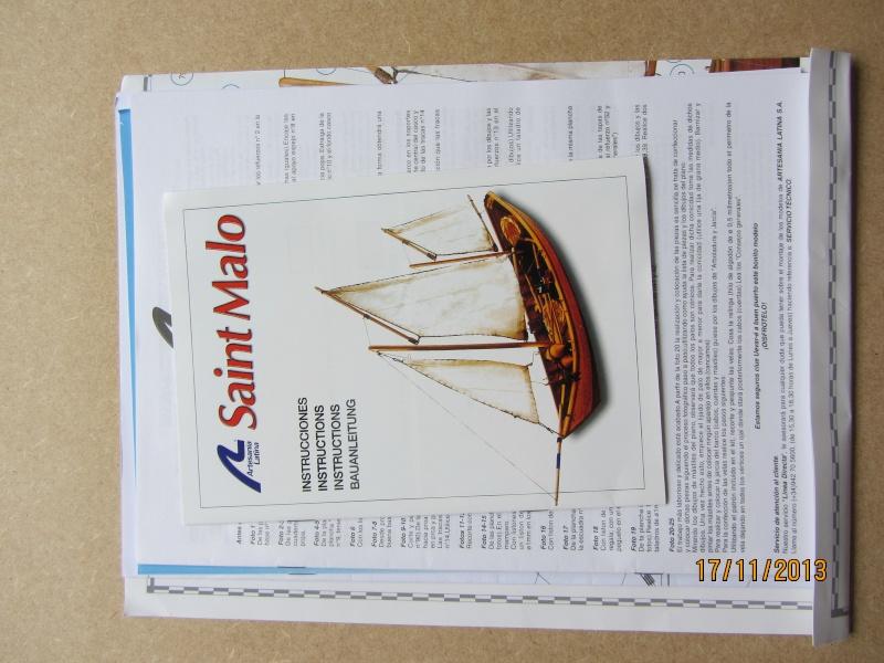 """Le """"Saint Malo"""" de Artesania Latina au 1/20° Img_1715"""