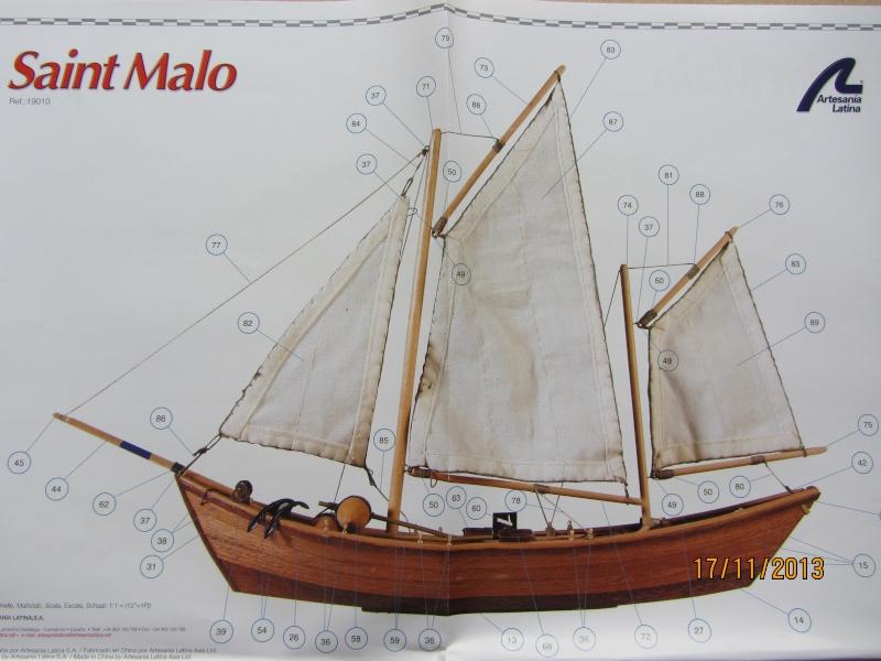 """Le """"Saint Malo"""" de Artesania Latina au 1/20° Img_1717"""