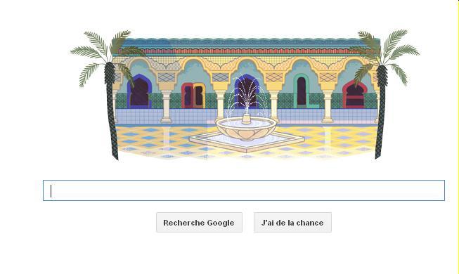 Google commémore l'independance du Maroc Mimoun10