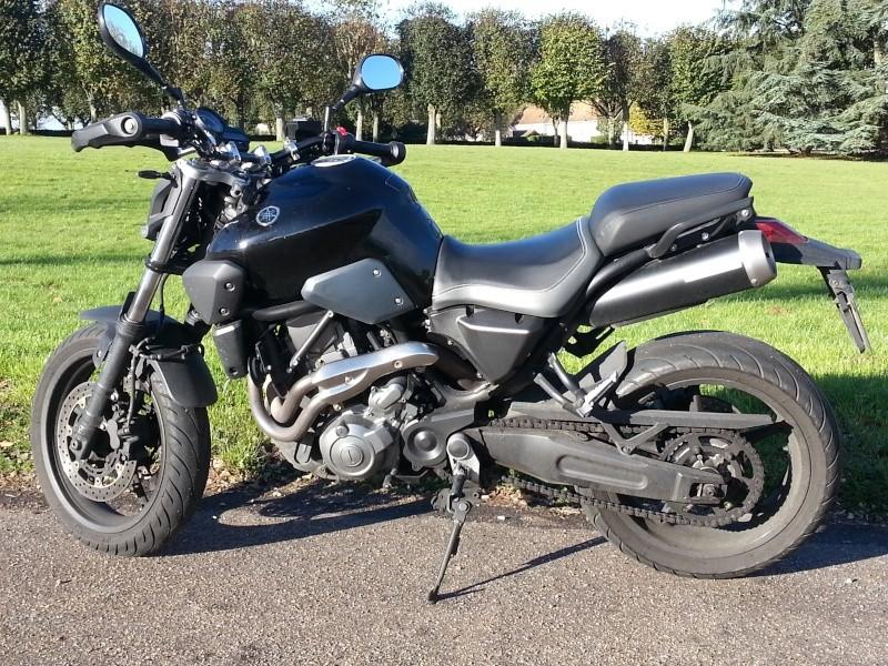 Votre moto avant la MT-09 20121110
