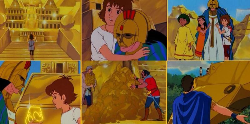 Les Mystérieuses Cités d'Or [1982] [S.Anim] 2015