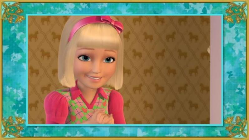 Barbie et ses Sœurs au Club Hippique [2013] [F. Anim] Marie10