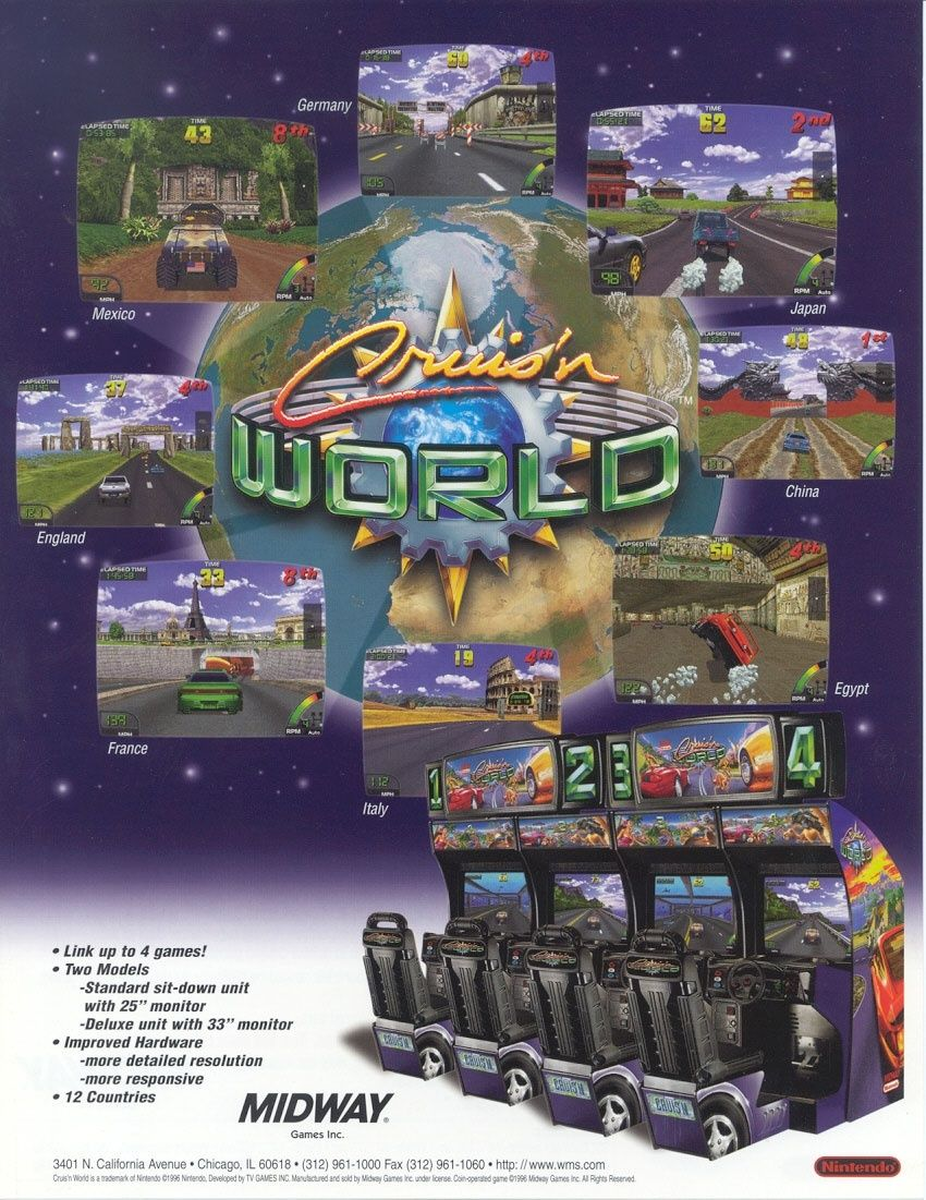 [WTB/Trade] Arcade flyers. Search & trade list in topic. Crusnw10