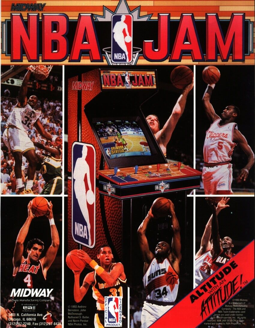 [WTB/Trade] Arcade flyers. Search & trade list in topic. Nbajam10