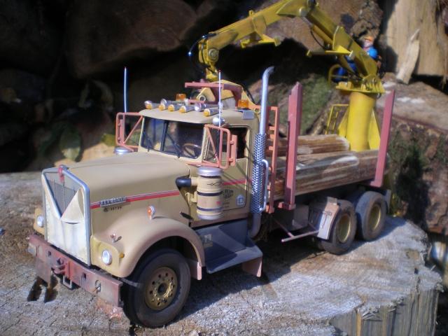 kenworth loggin truck P7131510