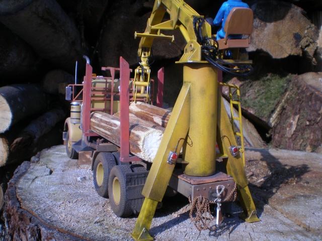 kenworth loggin truck P7131513
