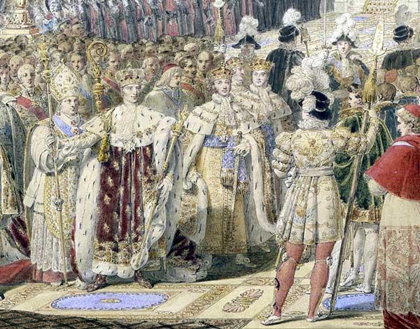 Splendeurs des sacres royaux  - Reims - Palais du Tau   Sacre_10