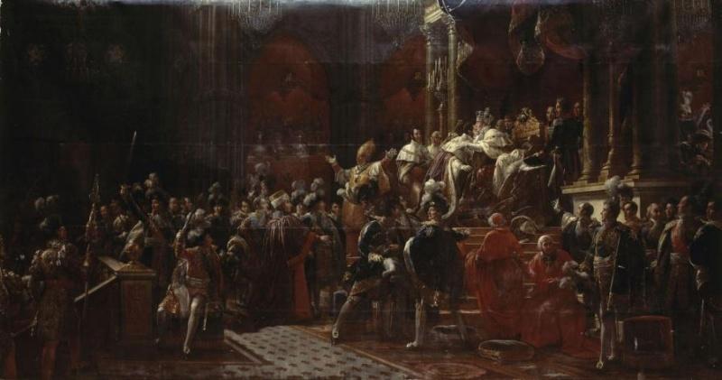 Splendeurs des sacres royaux  - Reims - Palais du Tau   Sacre_11