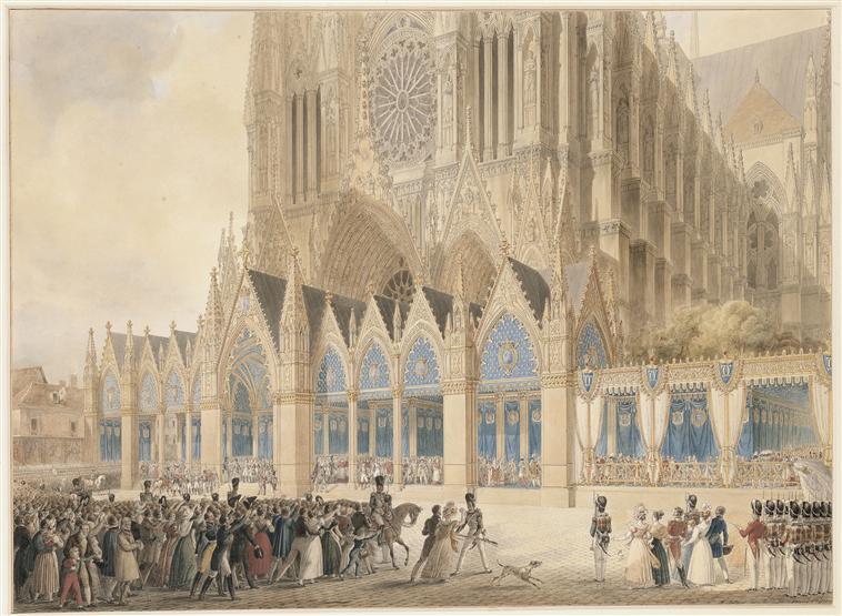 Splendeurs des sacres royaux  - Reims - Palais du Tau   Sacre_13