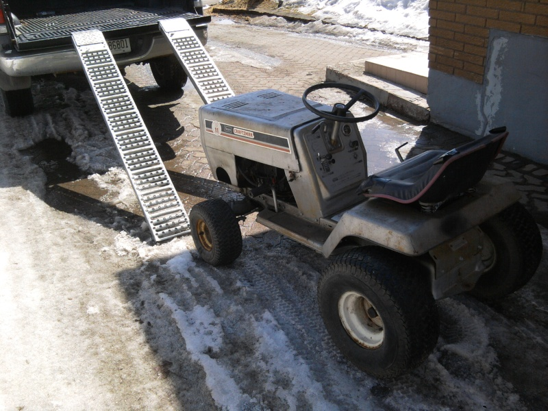 1982 Craftsman LT11 Trail/Mud/Woods Tractor 2014-010