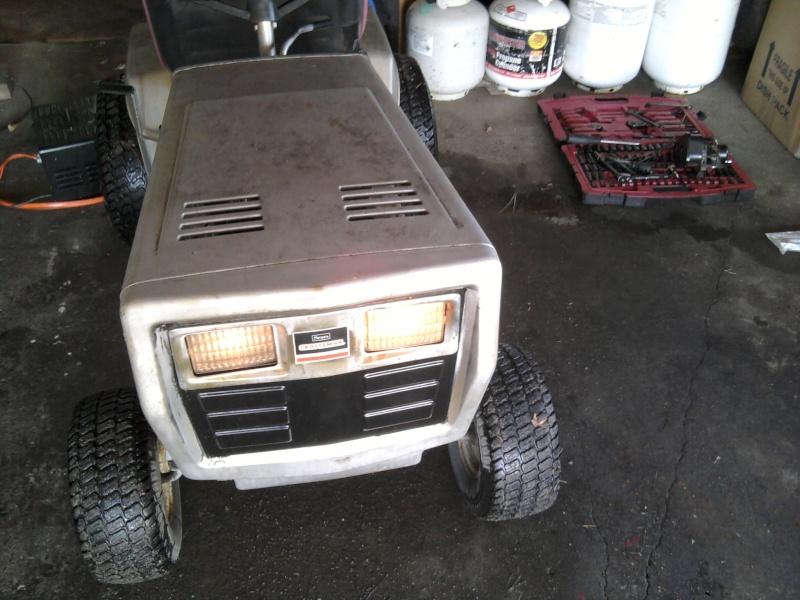 1982 Craftsman LT11 Trail/Mud/Woods Tractor 2014-012