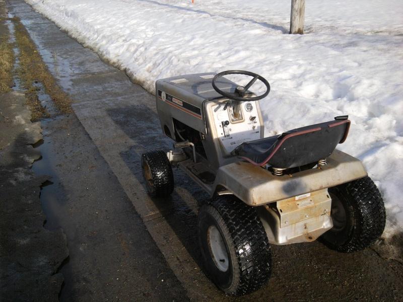 1982 Craftsman LT11 Trail/Mud/Woods Tractor 2014-013