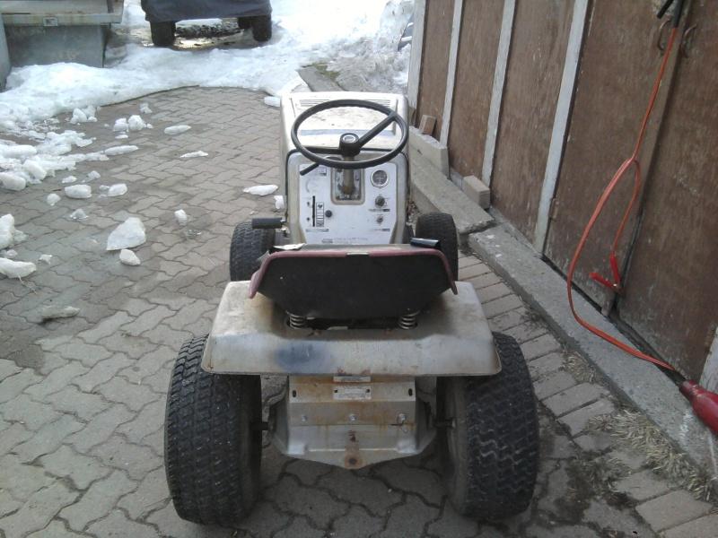 1982 Craftsman LT11 Trail/Mud/Woods Tractor 2014-016
