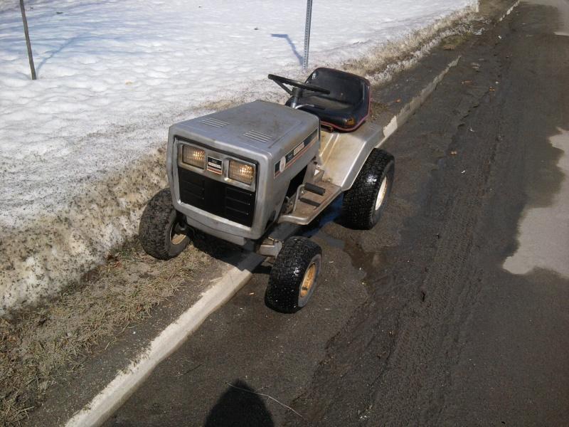 1982 Craftsman LT11 Trail/Mud/Woods Tractor 2014-020