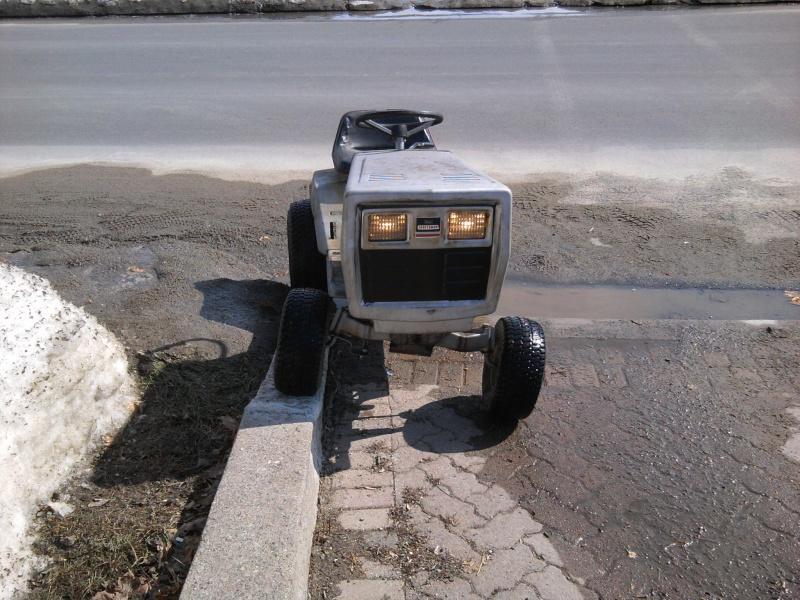 1982 Craftsman LT11 Trail/Mud/Woods Tractor 2014-021