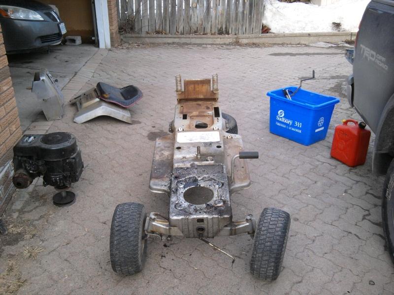 1982 Craftsman LT11 Trail/Mud/Woods Tractor 2014-024