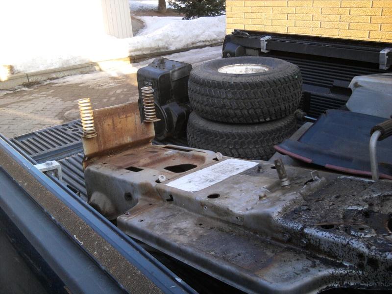 1982 Craftsman LT11 Trail/Mud/Woods Tractor 2014-028