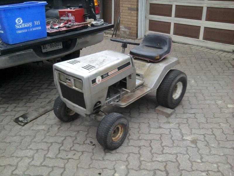 1982 Craftsman LT11 Trail/Mud/Woods Tractor 2014-042