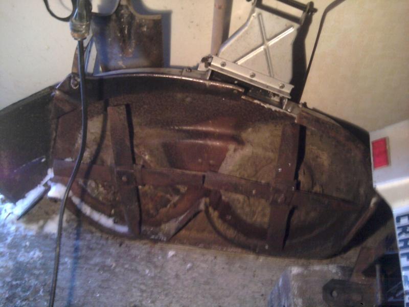 "'86 Craftsman II [""Cube""] Trail/Mud Mower Build Deck_110"