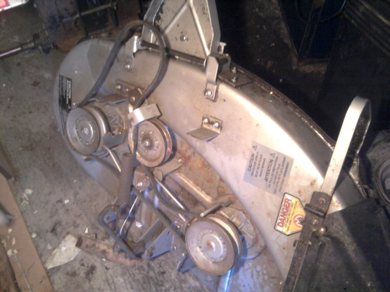 "'86 Craftsman II [""Cube""] Trail/Mud Mower Build Deck_210"