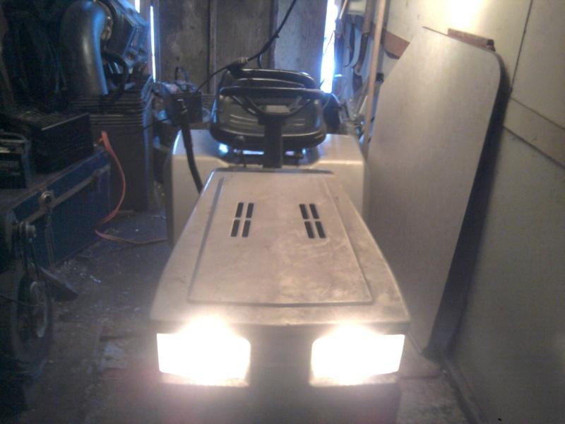 "'86 Craftsman II [""Cube""] Trail/Mud Mower Build Lights11"