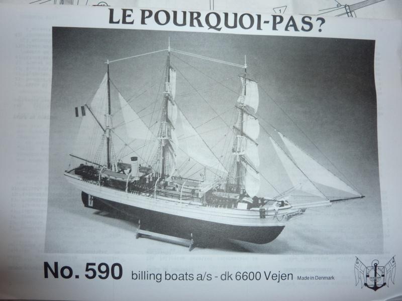 Le Pourquoi-Pas 1908 - Billing Boats - 1/75éme P1050317