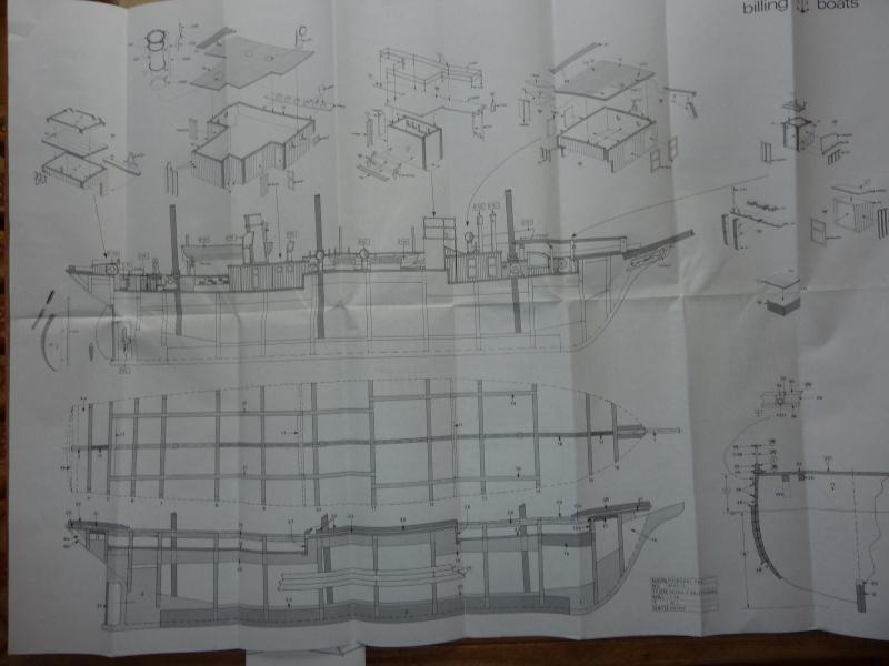 Le Pourquoi-Pas 1908 - Billing Boats - 1/75éme P1050320