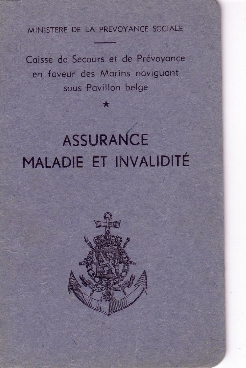 début sécurité sociale belge LA MARINE MARCHANDE Mm10