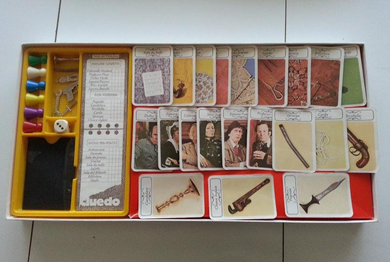 Vendo Cluedo (scatola gialla) Cluedo11