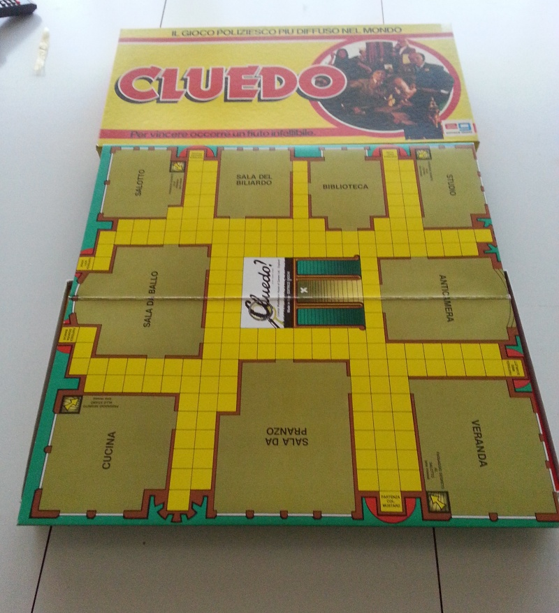 Vendo Cluedo (scatola gialla) Cluedo13