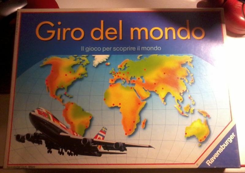 Vendo Giro Del Mondo Ravensburger Girode10