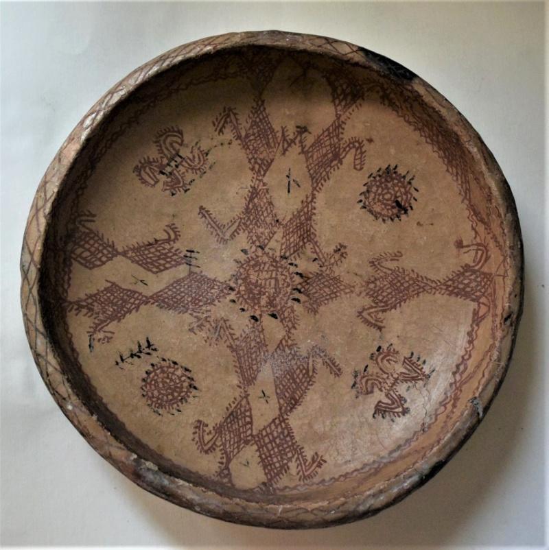 Ancien plat de parenté kabyle pour honorer la création d'un nouveau couple Dsc_2926