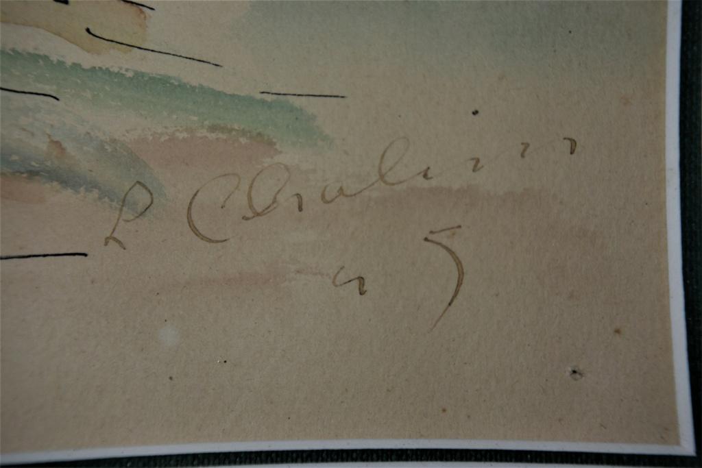 aquarelle signée L. Chalim? Dsc_7717