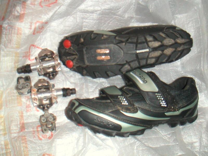 chaussure shimano et pedales spd Pict0510