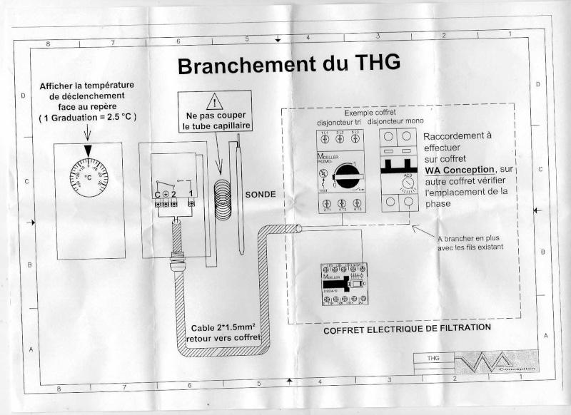 branchement boitier hors gel THG sur coffret W****** C2D Branch10