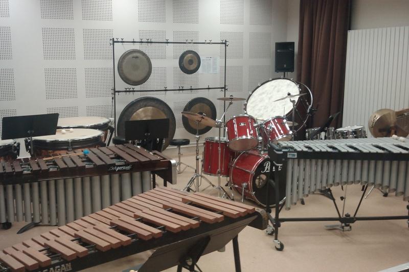 La classe de percussion de Trappes Imag0711