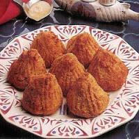 Rochers de merlan à la sauce crevettes Rocher10