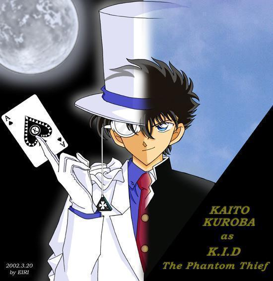 Profil Kaito Kid the Phantom Thief (Musuh Conan/Shinichi) Kaitou10