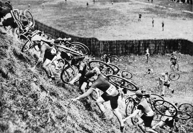 Cyclo Cross avant guerre 193110