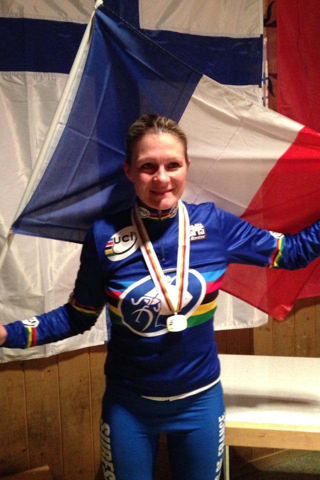 Championnat du monde Master cyclo cross Laure10